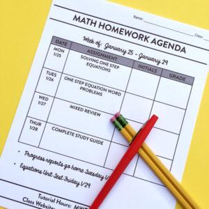 Teachers perspective on homework