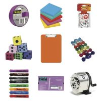 Must have school supplies to stock your classroom. |maneuveringthemiddle.com