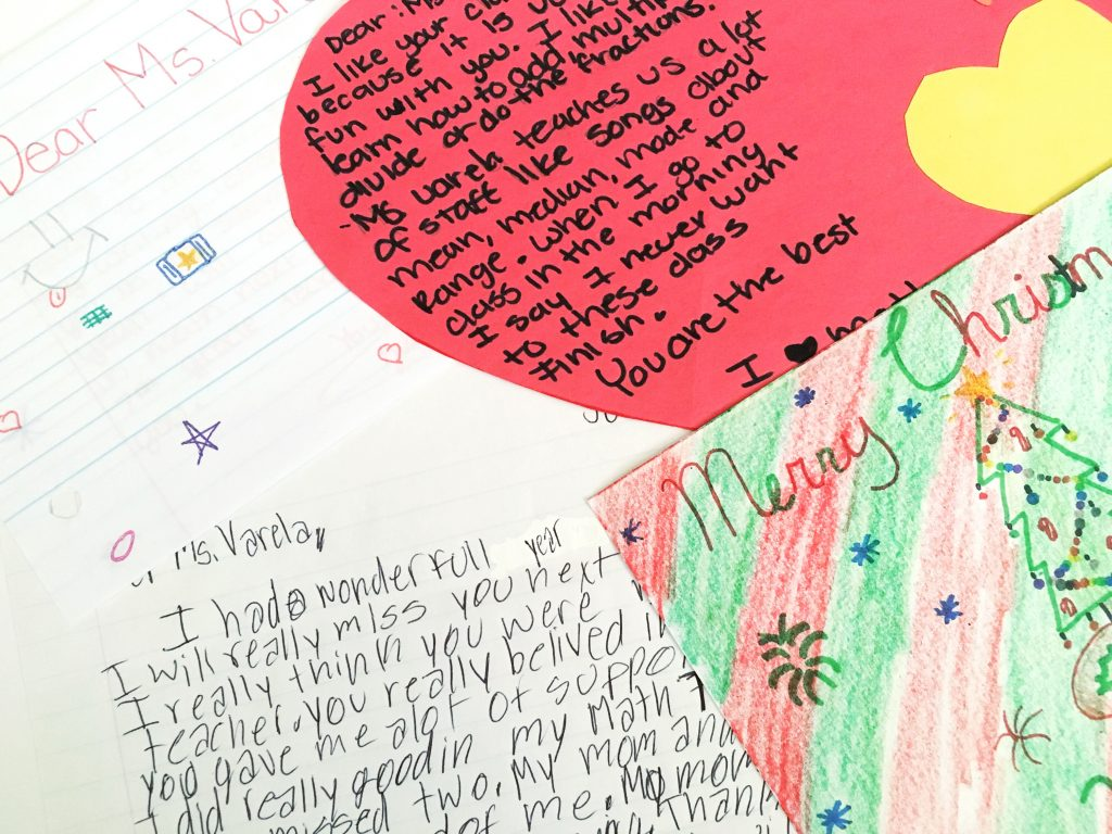 Heartfelt words on teacher appreciation from a parent's perspective.   maneuveringthemiddle.com