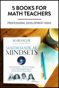 Professional development books for math teachers to sharpen their skills and better meet their students' needs.   maneuveringthemiddle.com