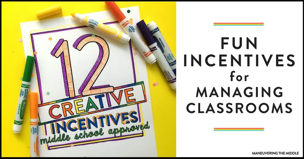 Classroom Reward Ideas For Middle School ~ Creative incentives for middle school maneuvering the