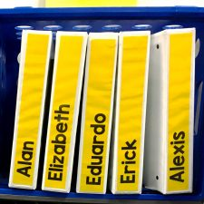3 ideas for student organization to keep the paperwork clutter under control. Great for middle school teachers who are emphasizing organization in their class. | maneuveringthemiddle.com