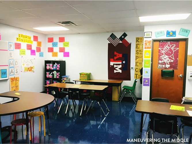 Classroom Design Ideas For College ~ Middle school classroom tour maneuvering the