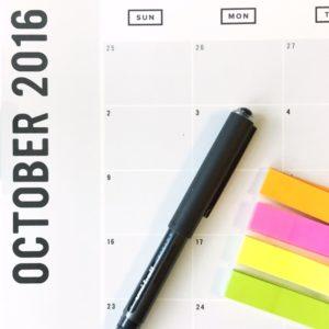 The October Slump:  Survival Tips