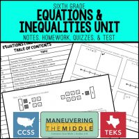 Teaching One- and Two-Step Inequalities - Maneuvering the Middle