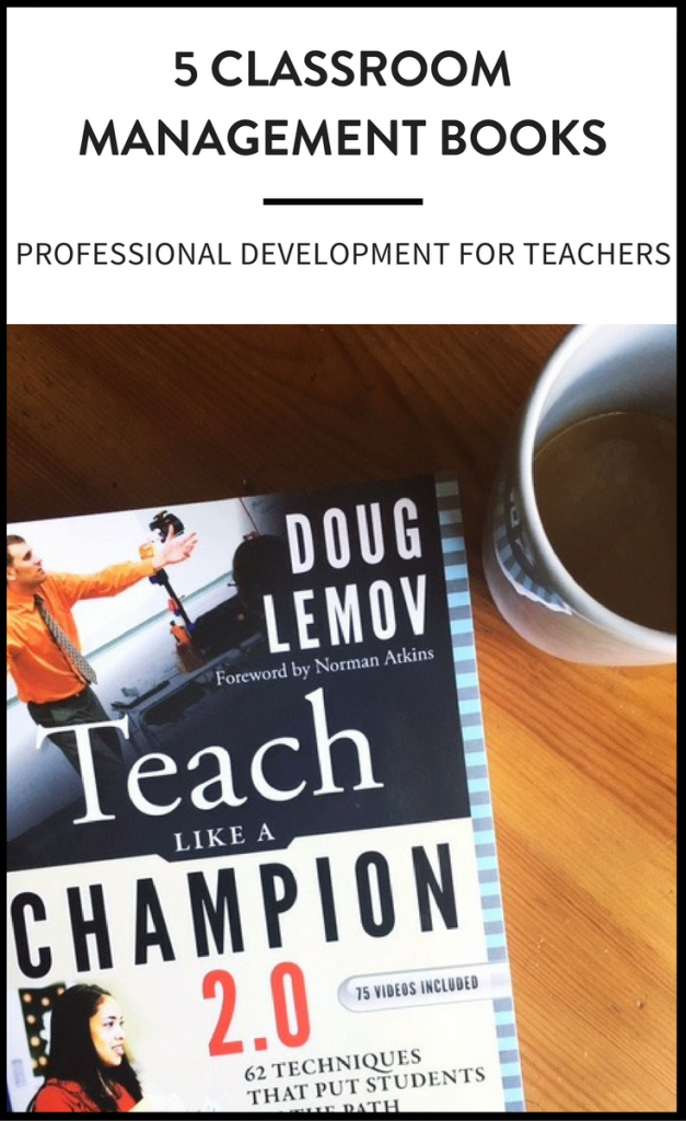 Classroom management books for middle school teachers to ensure your students are learning and on-task.