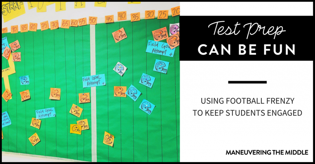 Preparation for any standardized test is a daunting task. But, making test prep fun for your students increases their buy-in and achievement!