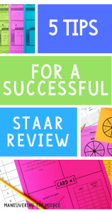 5 TIPS FOR A SUCCESSFUL STAAR REVIEW