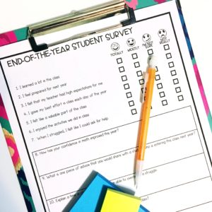 Student Surveys: An End-of-the-Year Reflection