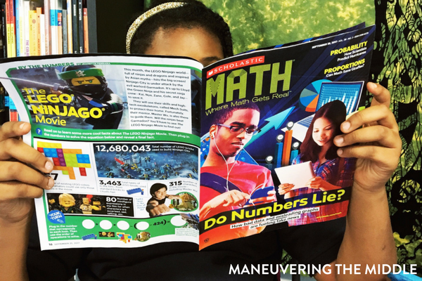 Make real-world connections and utilize current events with Scholastic Magazines for middle school.   maneuveringthemiddle.com