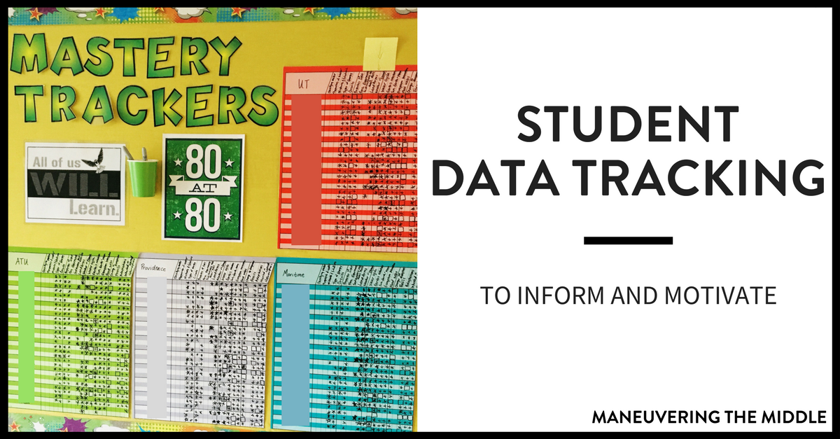 student data tracking that you can keep up with