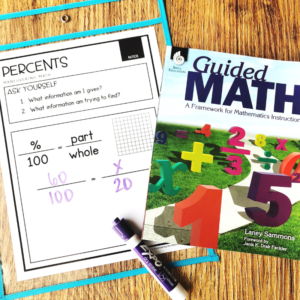 Using the Guided Math Framework in Math Intervention