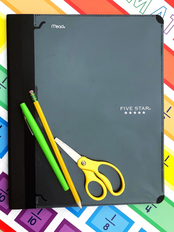 Five reasons to try interactive notebooks in your classroom from student organization to incorporating brain research - interactive notebooks are a must! | manueveringthemiddle.com