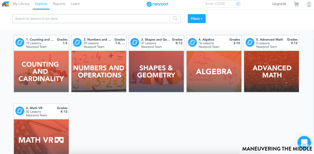 Teachers want to meet all students' needs, but with many students, it can be overwhelming. Nearpod make meeting your students' needs doable! | maneuveringthemiddle.com