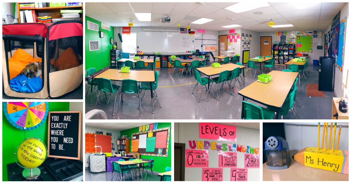 Enjoy a classroom tour from a teacher who has been teaching for 15 years. In this post, you will learn valuable classroom ideas for strategic set up. | maneuveringthemiddle.com