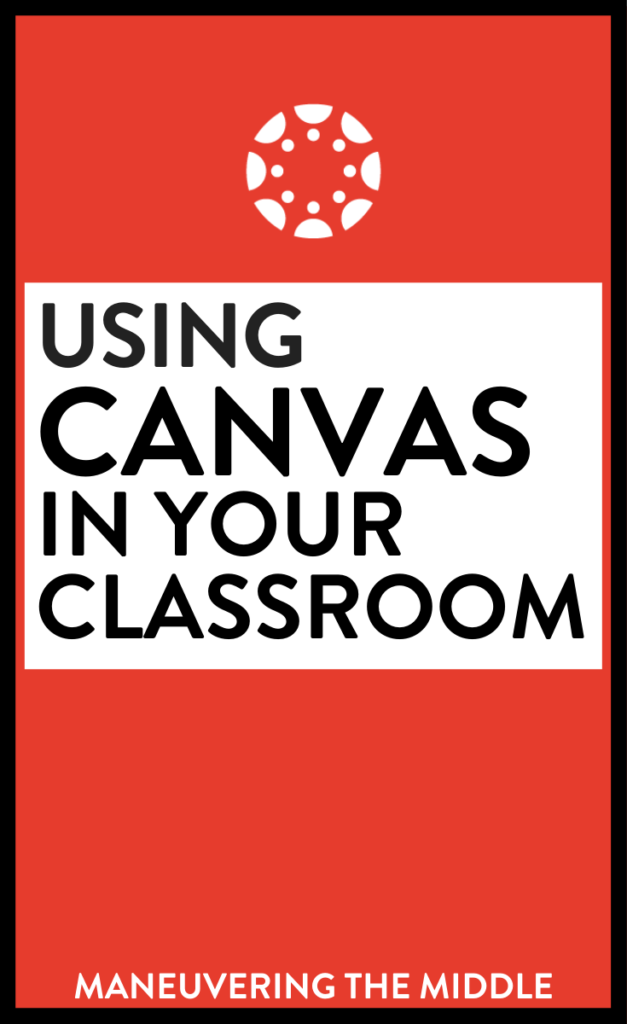 Canvas is a learning management software that allows each student to access material and submit assignments. Read more tips and tricks here! | maneuveringthemiddle.com