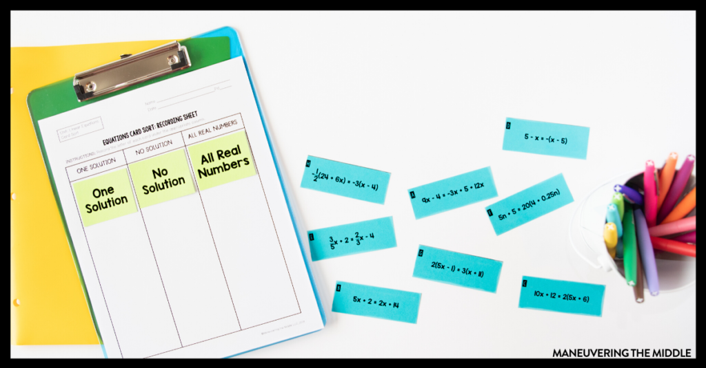 """Struggling with students asking """"when are we ever going to use this?"""" Here are 4 Ideas for Making Algebra Relevant to Students   maneuveringthemiddle.com"""