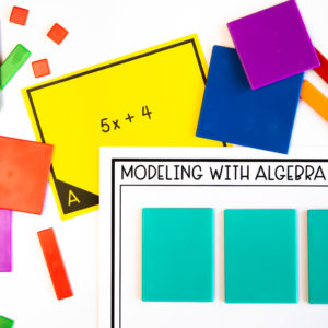 Getting Started with Algebra Tiles